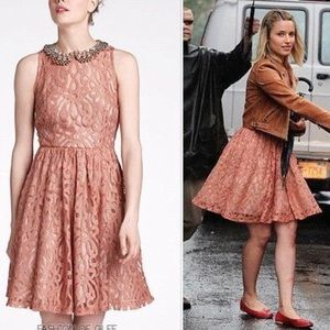 Anthropologie Mariposa Lace Dress by Tracy Reese